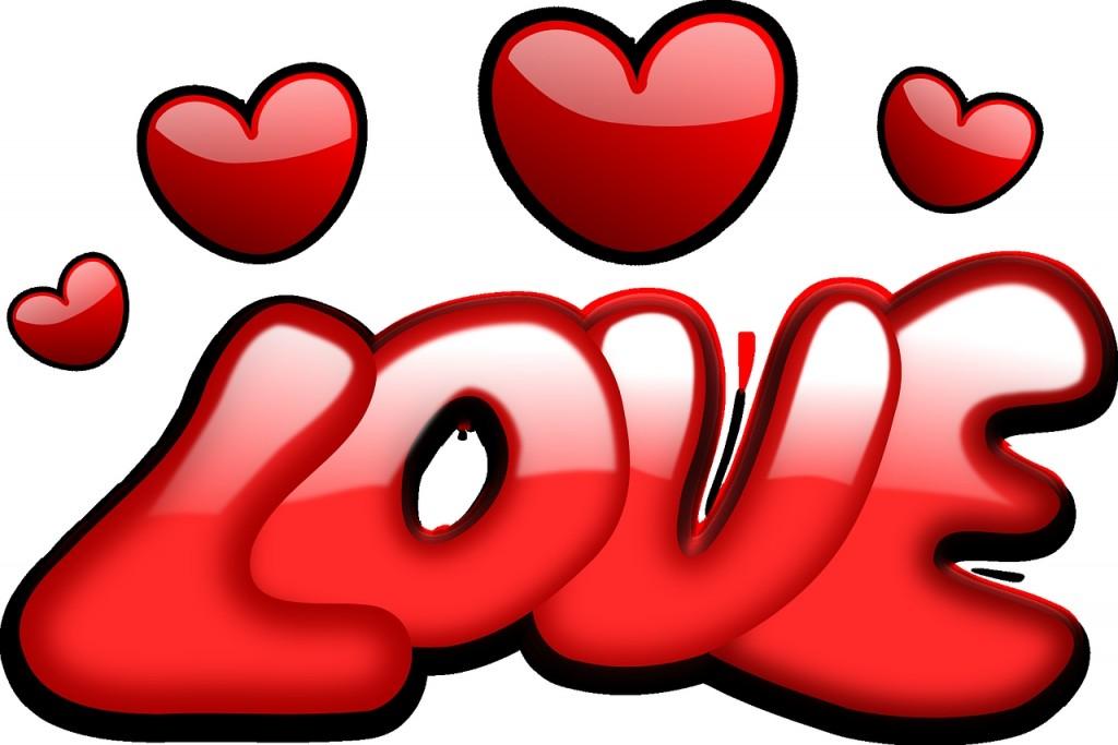 バレンタイン ハート LOVE