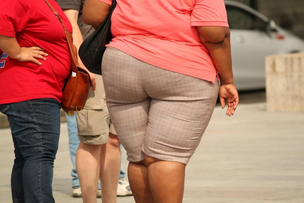 肥満のアメリカ人